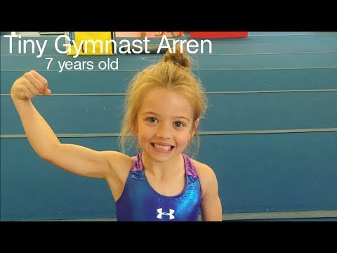 Tiny Gymnast Arren - Amazing 7 year old gymnast! (Level 7/TOPs)