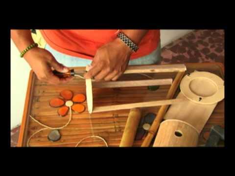 Lamparas de bambú   youtube
