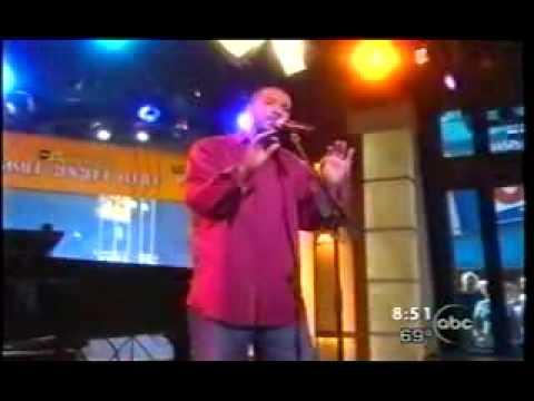 Lyfe Jennings singing Goodbye on GMA