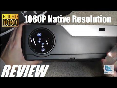 REVIEW: Vankyo V600 FHD 1080P Native Res Projector!