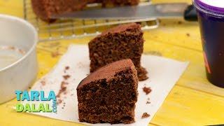 Eggless Chocolate Cake (pressure Cooker) By Tarla Dalal