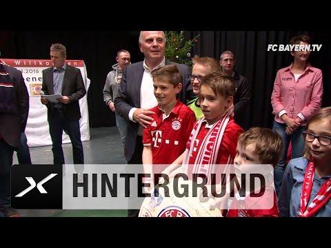 Uli Hoeneß frenetisch bei Fanclub-Besuch gefeiert | FC Bayern München
