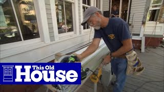 TOH: Trade School- Exclusive Preview of Plaster, Shingles, Radiant Heat!