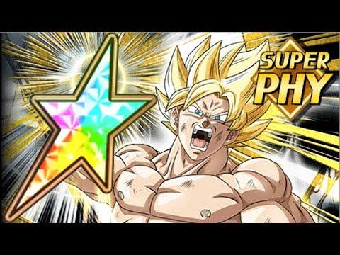 100% PHY SSJ GOKU Superheated Super Power Dragon Ball Z Dokkan Battle