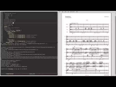 Resizing Scores in LilyPond
