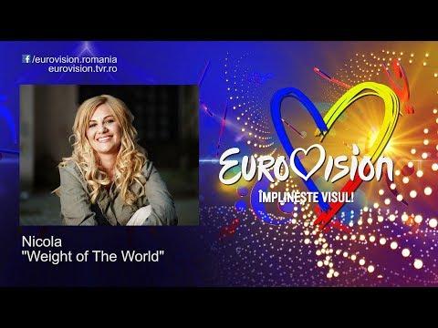 Nicola - Weight of The World | Eurovision România 2019