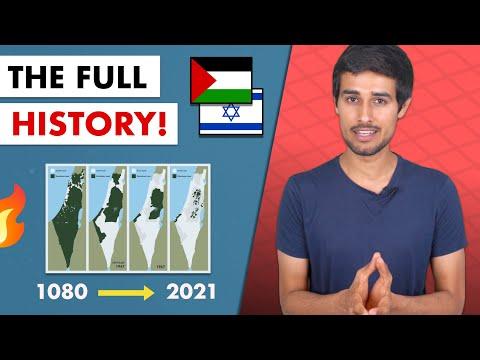 Israel Palestine Conflict: 1000 year History | Jerusalem | Gaza | West Bank |  Dhruv Rathee