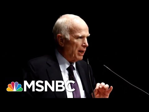 President Donald Trump's Digs At John McCain Hit A New Low With 'Chilling' Snub | Deadline | MSNBC