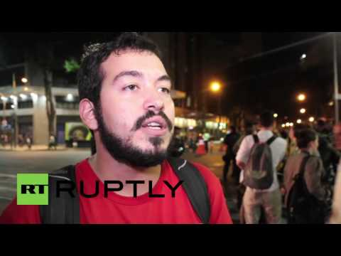 Brazil: Protest in Rio de Janeiro against 'Olympics crisis'
