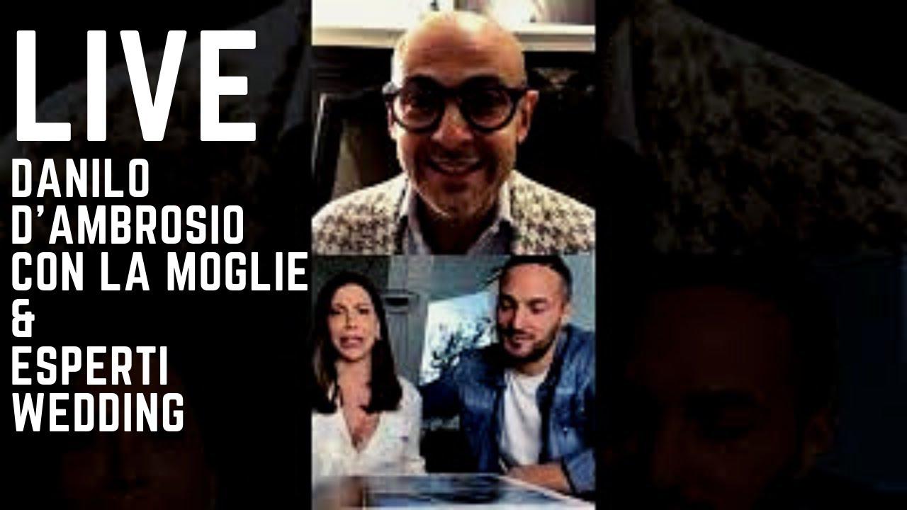 Enzo Miccio LIVE CON DANILO D'AMBROSIO e la moglie Enza De Cristofaro ma  non solo! - YouTube
