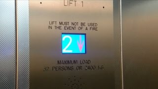 Detailed look at a Porn & Dunwoody lift