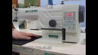 видео: Атоматизированая швейная машина Zoje Zj9703AR D301PF