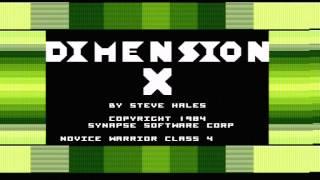 Atari 800XE, DIMENSION X
