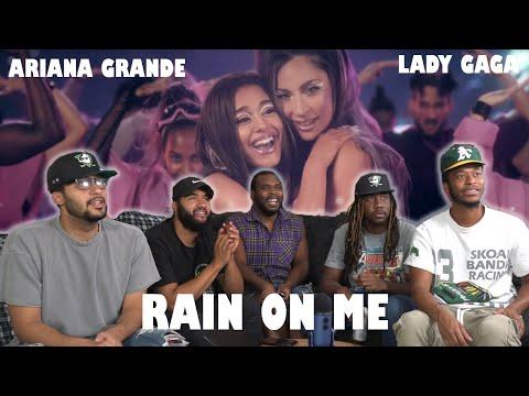 Lady Gaga Ariana Grande Rain on Me Official Video Reaction
