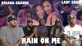 Lady Gaga Ariana Grande Rain on Me Official Video Reaction