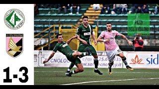 Avellino-Palermo 1-3 - HD Highlights - Serie B 16^ Giornata