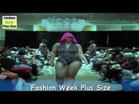 Fashion Week Plus Size 2017 - Large Women Hot Plus Size Luxury Lingerie -New Videos - Fashion Show