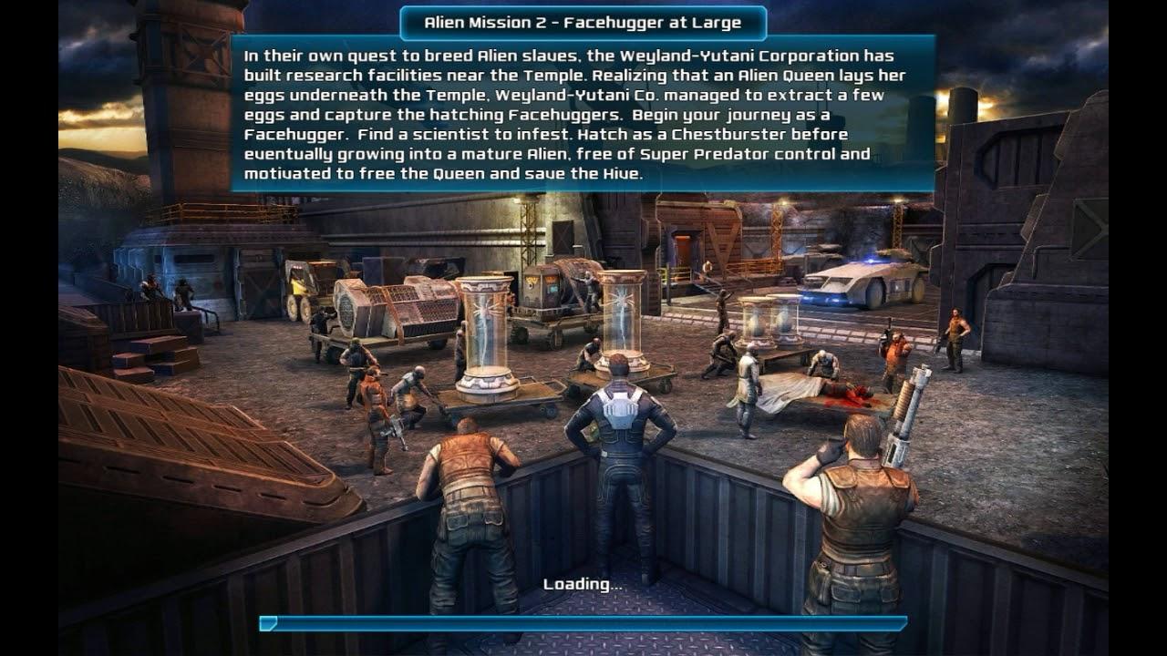 AVP Evolution Alien Vs Predator Mission 2 Facehugger At Large Walkthrough And Gameplay