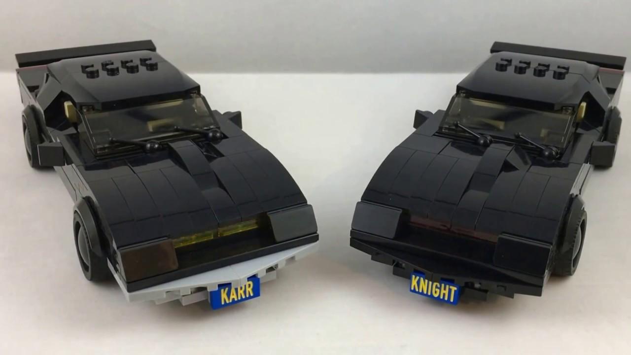 lego kitt karr from knight rider youtube. Black Bedroom Furniture Sets. Home Design Ideas