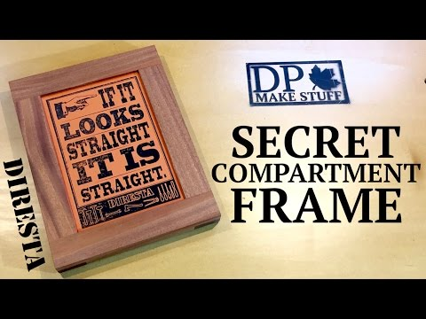 How to Make a Picture Frame with a Hidden Compartment