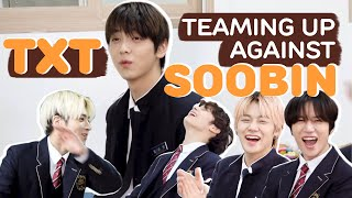 Download TXT Teaming Up Against Soobin To Tease Their Leader   투바투의 리더 수빈을 놀려먹는 투바투