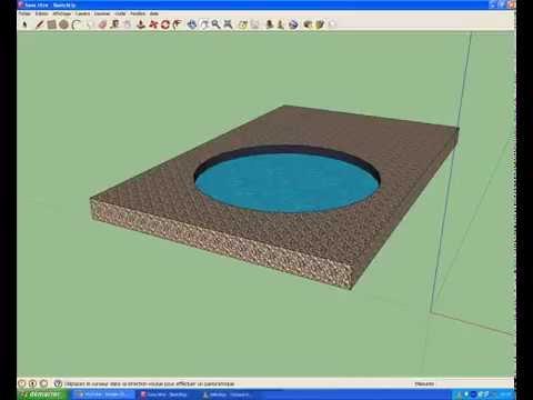 darkness comment faire une piscine dans sketchup youtube. Black Bedroom Furniture Sets. Home Design Ideas