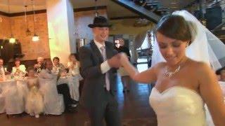Первый танец молодых на свадьбе Сергея и Кристины