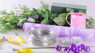 Флористические материалы и инструменты, облегчающие работу флориста...