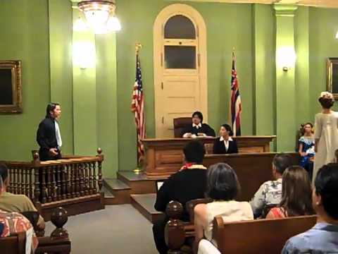 HYOC presents Trial by Jury by Gilbert and Sullivan. 4 of 4