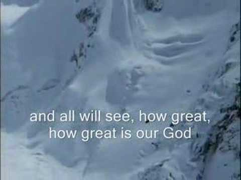 Chris Tomlin How Great is Our God Worship  with Lyrics