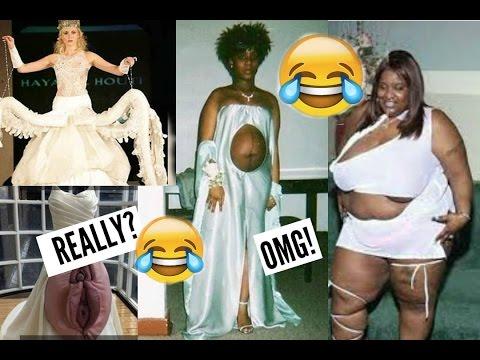 Vestidos de novia mas horribles del mundo