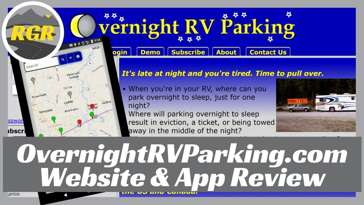 How to Use OvernightRVParking.com | Website and App Review | Find Overnight RV Parking with Ease