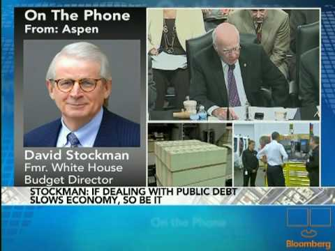 Stockman Discusses Expiration of Bush Tax Cuts: Video