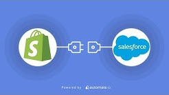 Shopify Salesforce Integration | Connect Shopify To Salesforce In Minutes!