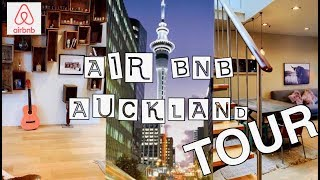 Gambar cover FIRST TIME USING AIRBNB | AUCKLAND CITY APARTMENT TOUR