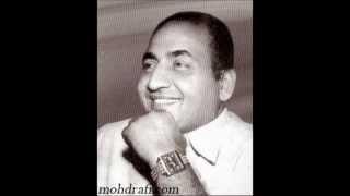 AAKASH PE BAITHA HUA LIKHTA HAI TAQDEER BY MOHD RAFI SAHAB