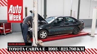 Toyota Carina E 1.6i - 1995 / 823.798 km - Klokje Rond AutoWeek