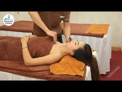 Moxa Massage (Dynamic Moxibustion) Treatment For Headache By Traditional Massage