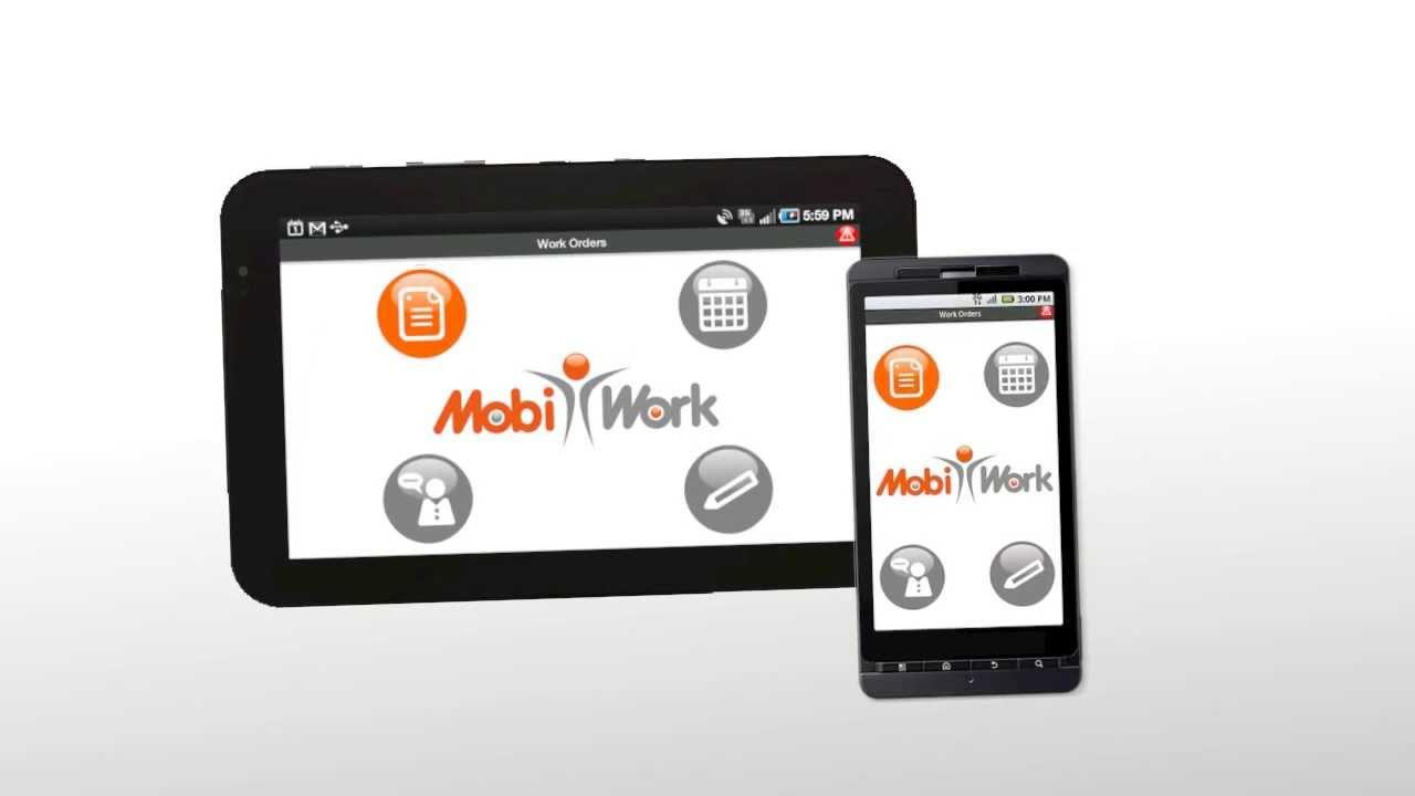 Mobiwork Mobile Workforce Management Solution Youtube