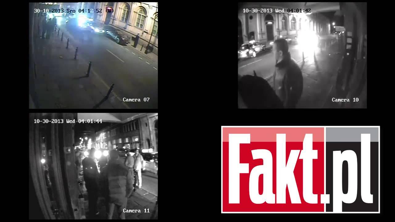 Przemysław Wipler - Pełne nagranie incydentu z udziałem policji