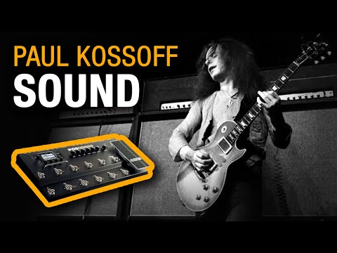 ALL RIGHT NOW ON LINE6 POD 500  Paul Kossoff Sound