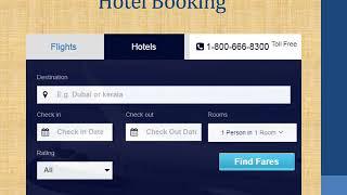 Cheap flights booking online & cheap hotels booking in USA – www.flightsbird.com