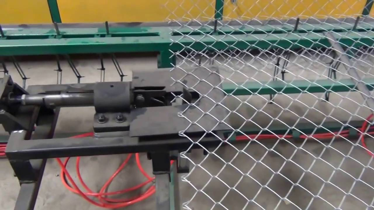 Single Wire Fully Automatic Chain Link Fencing Machine By Viral ...