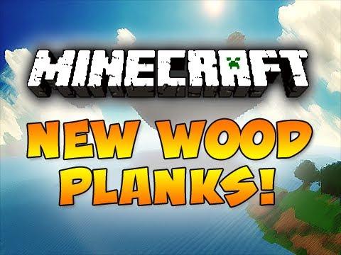 minecraft:-new-wood-planks!-(1.2.4)- -ijevin