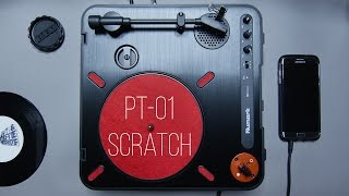 Numark PT01 SCRATCH: First Cut!!