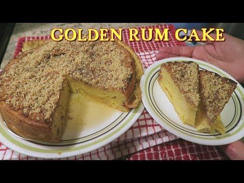 Angelo's Mom Makes Golden Rum Cake