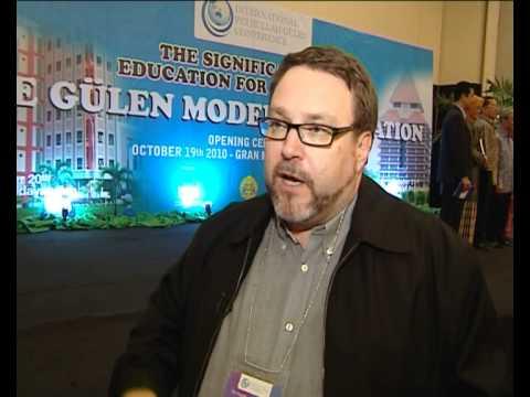 Fethullah Gulen Chair, Conference Interview Prof  Dr  Greg Barton