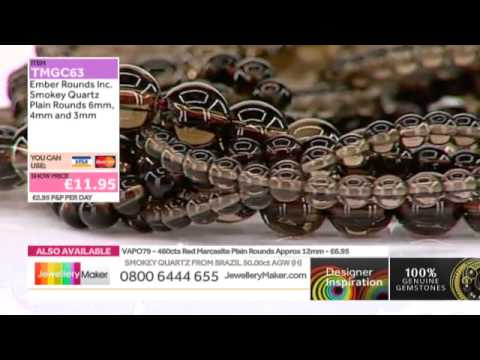 Learn How to Use Square Wire [Tutorial]: JewelleryMaker DI LIVE 22/10/14