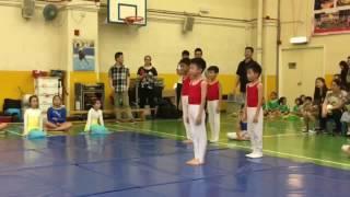 東華三院鄧肇堅小學综藝體操表演2016(1)