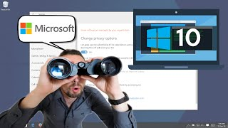 How to Stop Windows 10 from Spying on You (really easy)